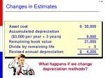 changes in estimates2