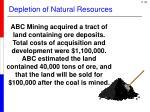 depletion of natural resources2
