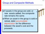 group and composite methods1