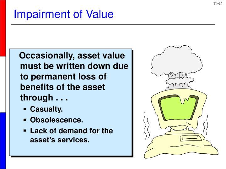 Impairment of Value