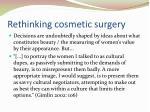 rethinking cosmetic surgery2