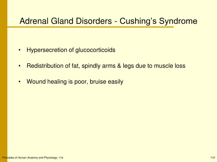 Adrenal Gland Disorders - Cushing's Syndrome