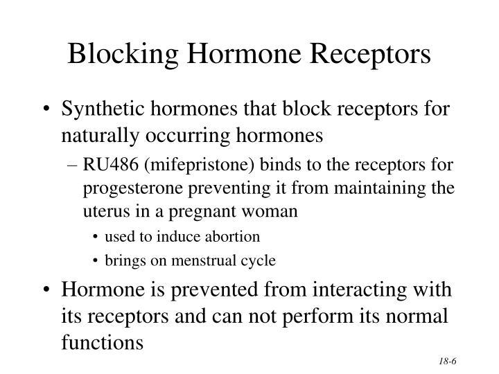 Blocking Hormone Receptors