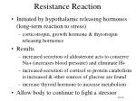 resistance reaction