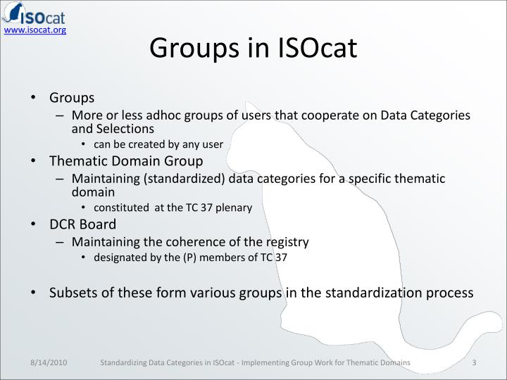 Groups in