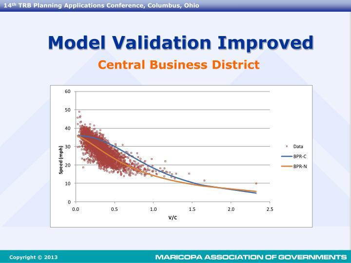 Model Validation Improved