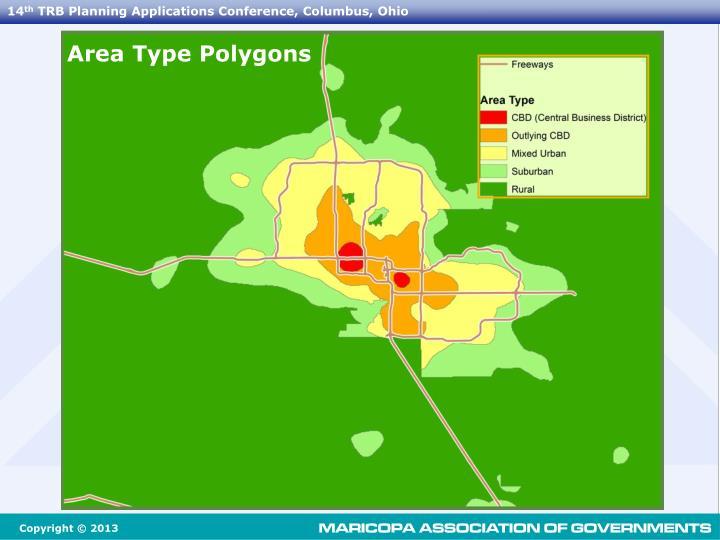 Area Type Polygons