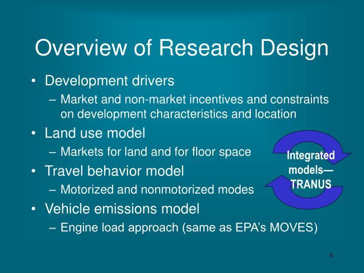 Integrated models—