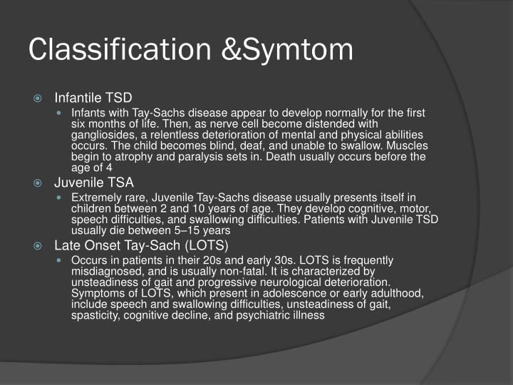 Classification &