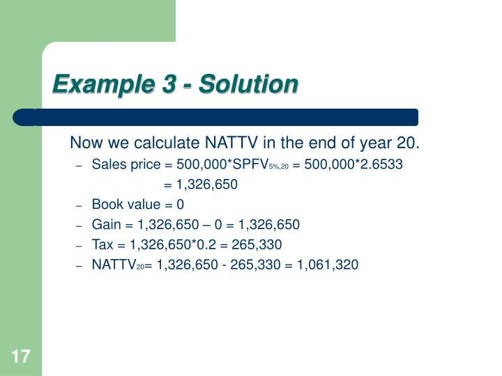 Example 3 - Solution