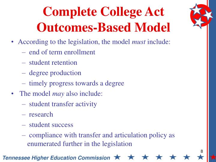 Complete College Act