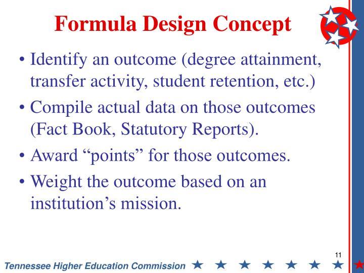 Formula Design Concept