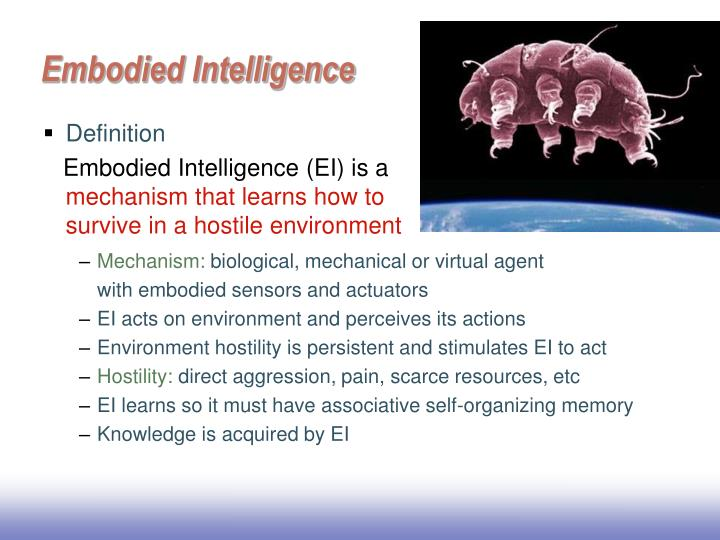 Embodied Intelligence