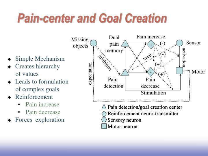 Pain-center and Goal Creation