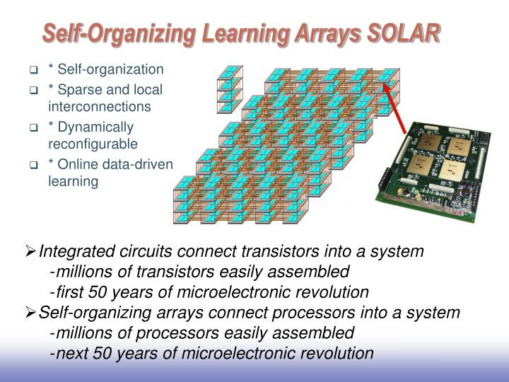 Self-Organizing Learning Arrays SOLAR