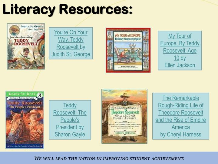 Literacy Resources:
