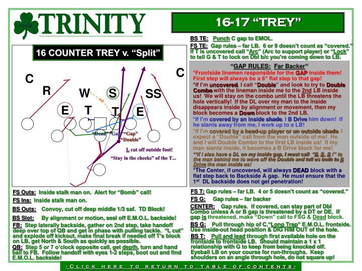 """16-17 """"TREY"""""""