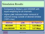 simulation results1