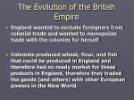 the evolution of the british empire1