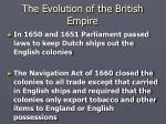 the evolution of the british empire2