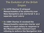 the evolution of the british empire4