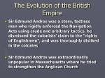 the evolution of the british empire7