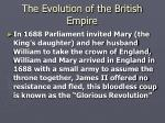 the evolution of the british empire9