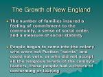 the growth of new england12