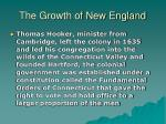 the growth of new england13