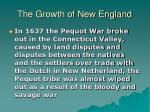 the growth of new england19