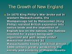 the growth of new england20