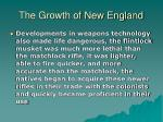 the growth of new england23