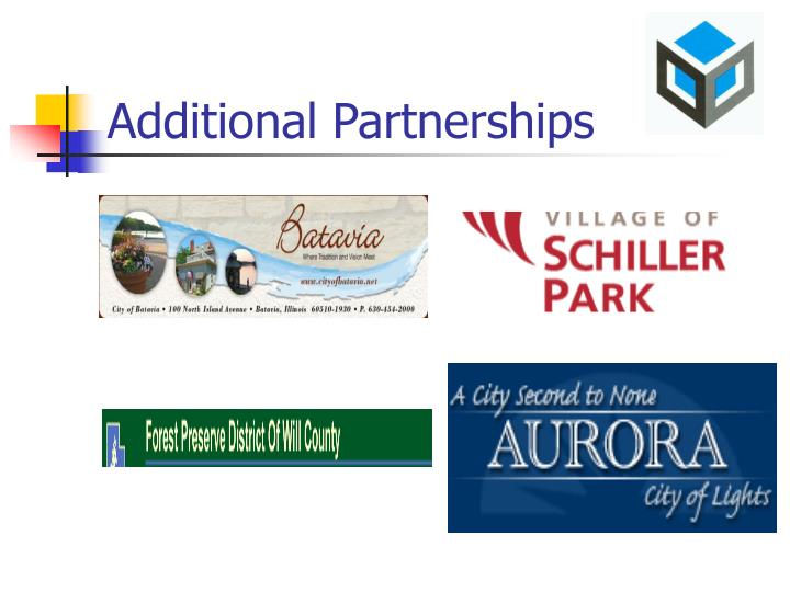 Additional Partnerships