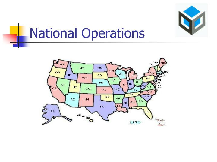 National Operations