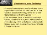 commerce and industry11