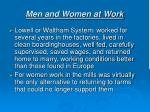 men and women at work1