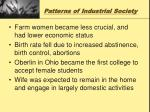 patterns of industrial society5