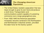 the changing american population2