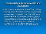 transportation communication and technology10