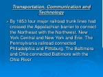 transportation communication and technology11