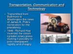 transportation communication and technology14