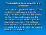 transportation communication and technology16
