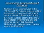 transportation communication and technology7