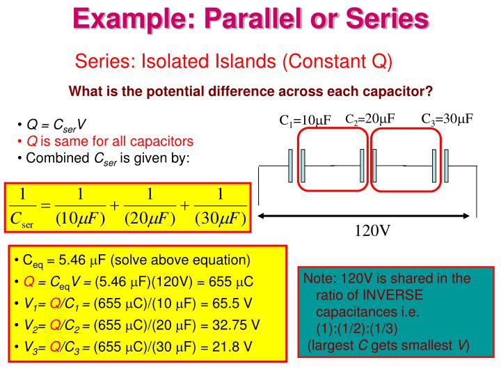 Series: Isolated Islands (Constant Q)