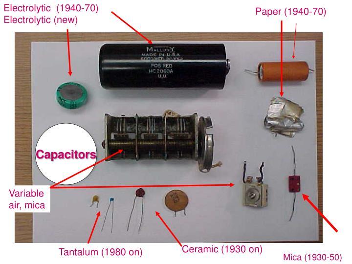 Electrolytic  (1940-70)