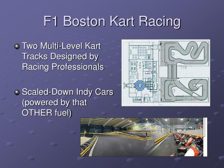 F1 Boston Kart Racing