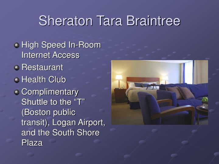 Sheraton Tara Braintree