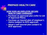 prepaid health care1
