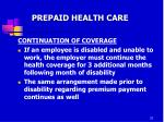 prepaid health care14
