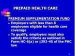 prepaid health care16